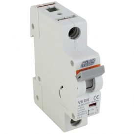 6A 6Ka Single Pole MCB (D Curve) 18