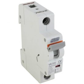 10A 6Ka Single Pole MCB (D Curve) 18