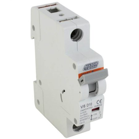 10A 6Ka Single Pole MCB (D Curve) 1