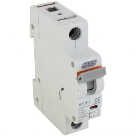 16A 6Ka Single Pole MCB (D Curve) 18
