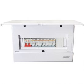 12 Way Distribution Board (Flush Mount) 12