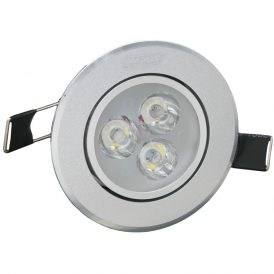 3 x 1W C1 LED Ceiling Lights 8