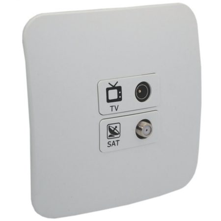 TV and Satellite Socket Outlet 1
