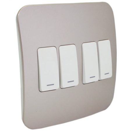 Four Lever One-Way Switch 1