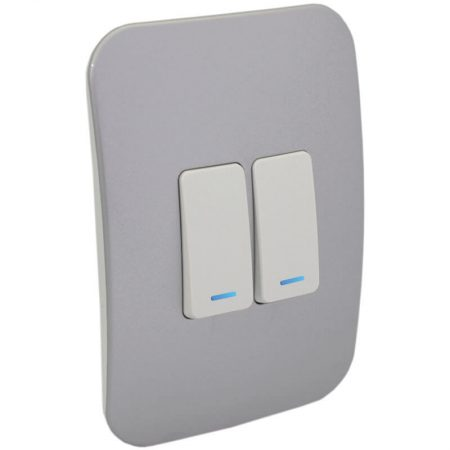 Two Lever One-Way Switch with Locator 1