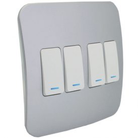 Four Lever One-Way Switch with Locator 4
