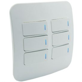 Six Lever One-Way Switch with Locator 2