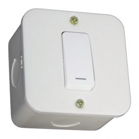 One Lever One-Way Switch- White 3