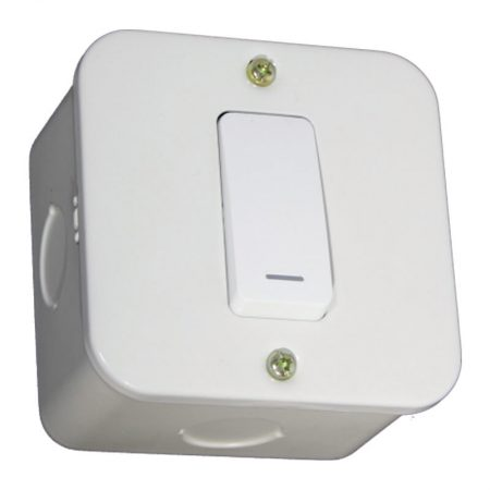 One Lever One-Way Switch- White 1
