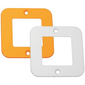 One Double Module Cover Plate 10