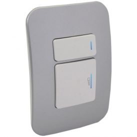 2-Way Universal Push Button Dimmer with Locator Switch 2