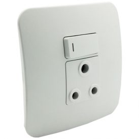 Single RSA Socket Outlet 9