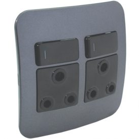 Double RSA Socket Outlet 4