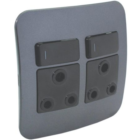 Double RSA Socket Outlet 1