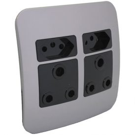 2 x RSA and 2 x RSA V-Slim Socket Outlet 5