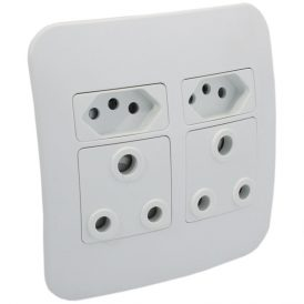 2 x RSA and 2 x RSA V-Slim Socket Outlet 4