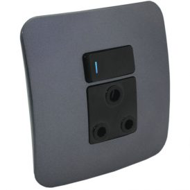 Single 16A RSA Socket Outlet with Indicator 18