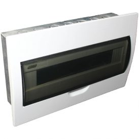 18 Way Flush Mount Board With Galvanised Steel Tray 5