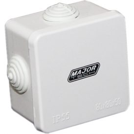 Junction Boxes with Rubber Gland (80mm x 80mm x 50mm) 4