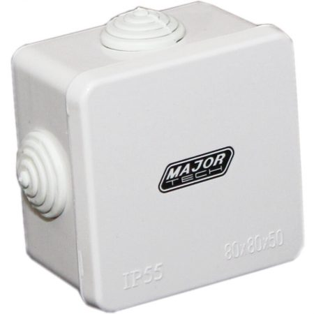 Junction Boxes with Rubber Gland (80mm x 80mm x 50mm) 1