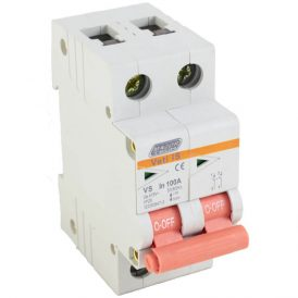 100A Double Pole Isolator 1