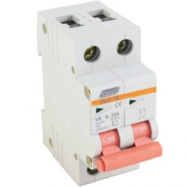 32A Double Pole Isolator 5
