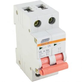 80A Double Pole Isolator 13