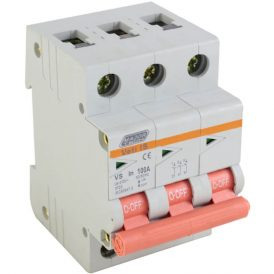 100A Triple Pole Isolator 4