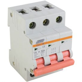 32A Triple Pole Isolator 8