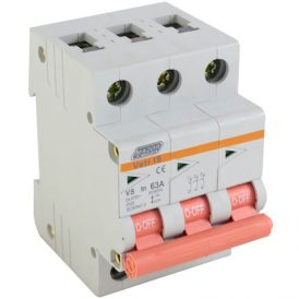 63A Triple Pole Isolator 12