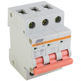 80A Triple Pole Isolator 16
