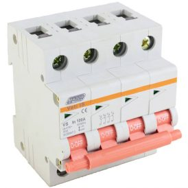 100A Four Pole Isolator 2