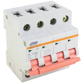 63A Four Pole Isolator 10