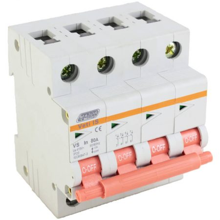 80A Four Pole Isolator 1