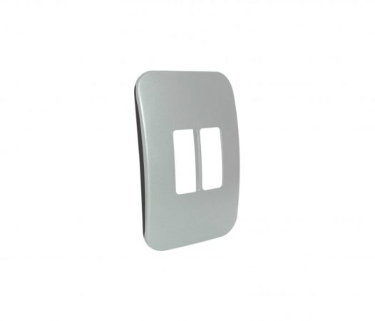 Two Single Module Vertical Cover Plate 1