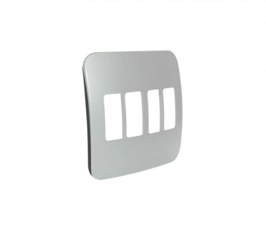 Four Single Module Vertical Cover Plate 1